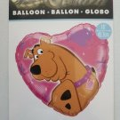 "Hallmark Cartoon Network Scooby-Doo Helium Balloon 18"" Heart shape NEW"