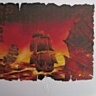 Disney Pirates of the Caribbean Lithograph Certificate Of Authenticity included