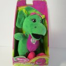 """Barney Plush Singing """" I Love You"""" Song 10 Inches NEW Baby Bop"""