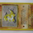 POKEMON Card 1st EDITION SANDSHREW 62/102 40HP