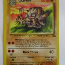 POKEMON Card 1st EDITION GRAVELER 37/62 60HP