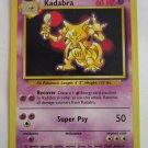 POKEMON Card 1st EDITION KADABRA 32/102 60HP