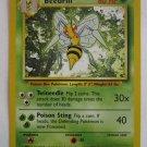 POKEMON Card 1st EDITION BEEDRILL 17/102 80HP
