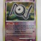 POKEMON Holo Card Yr 2007 UNOWN 69/132 HP50