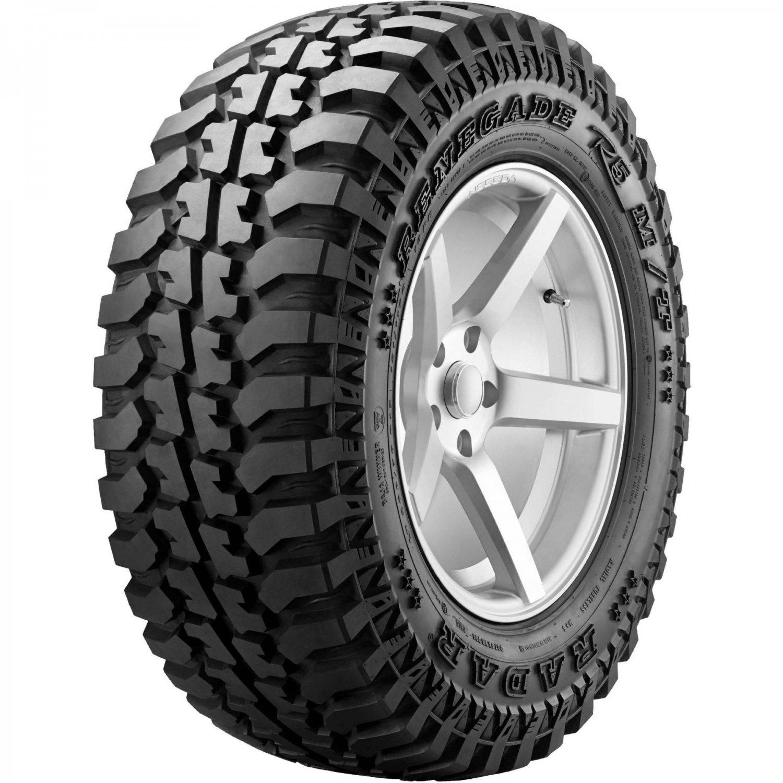 Tire Radar Renegade R5 M/T LT 31X10.50R15 Load C 6 Ply MT Mud
