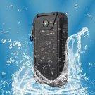 Travel Waterproof Solar Power Bank 10000mah Dual USB LE