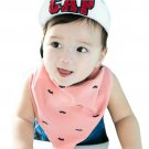 High quality Baby bibs triangle double layers cotton Ca