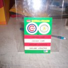 1988 FLEER STICKER MONTREAL CHICAO CUBS OAKLAND ATHLETICS