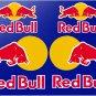 Red Bull (Large 15cm Set) Srickers x6 With No Background design, Motor Bike, Car Moto Helmet -