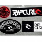 Rip Curl, Surf Board, Car, Bike, Boards, Scooter etc Stickers Set X 4 (Laminated Water Resistant)