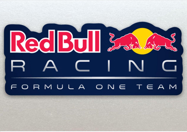 Xtra Large Red Bull Formula One (F1) Racing Blue Background Car Van Etc Sticker (210mm)