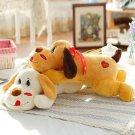 Cartoon 30cm 60cm 90cm Lying On Front Dog Plush Toys Ki