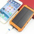 High quality Solar Power Bank 10000mAh Dual USB Portabl