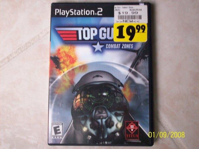 Playstation 2 Top Gun game