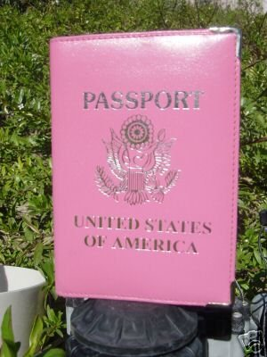 Pink Passport Wallet