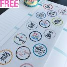 PP404 -- Motivational Quotes Planner Stickers for Erin Condren