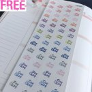 PP240 -- Little Pay Day Icons Life Planner Stickers for Erin Condren