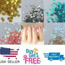 SNOWFLAKE ️ Glitter Multi Colors Nail Holographic Glitter Art Acrylic Gel