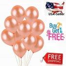 Rose Gold Latex Balloon, Party/ Wedding/Birthday