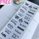 PP489 -- FU*K OFF Snarky Adulting Is Hard Planner Stickers for Erin Condren