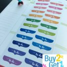 PP041 -- Small To Do Headers Life Planner Stickers for Erin Condren