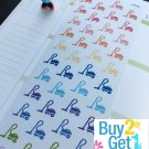 PP042 -- Vacuum Cleaner Life Planner Stickers for Erin Condren