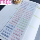 PP413 -- Daily Hydrate Reminder Life Planner Stickers for Erin Condren