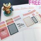 PP153 -- Enjoy Today Weekend Kit Planner Stickers for Erin Condren
