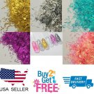 LONG Bar  Glitter Multi Colors Nail Holographic Glitter Art Acrylic Gel