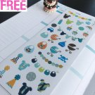 PP356 -- Baby Boy Shower Party Life Planner Stickers for Erin Condren