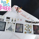 PP232 -- New Year Functional Boxes Planner Stickers for Erin Condren
