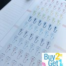PP040 -- Small Pets Dr Appointment Planner Stickers for Erin Condren