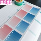 PP312C -- Small Functional Boxes Life Planner Stickers for Erin Condren