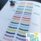 PP024 --  Heart Banner Life Planner Stickers for Erin Condren