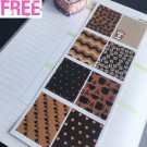 PP149B -- Coffee Week Decorations Life Planner Stickers for Erin Condren