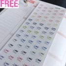 """PP239 -- Small """"Me Time"""" Life Planner Stickers for Erin Condren"""