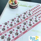 PP470A -- Pink Dog Lovers Monthly Kit Life Planner Sticker Erin Condren