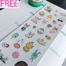 PP314 -- Small Easter Cute Icons Life Planner Stickers for Erin Condren