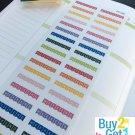 PP188 -- Weekend Banners Life Planner Stickers for Erin Condren