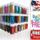 10 Colors Nail Art Tips Wraps Transfer Foil  BUY2GET1FREE-A--USA