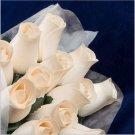 AA6: 1 Dozen Handmade Wooden Roses Bouquet US Fast Shipping