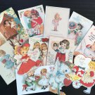 BB78 -- Lot of 13 Vintage Easter Greeting Card DIE CUTS for CARD MAKING