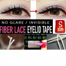 A+++: Deluxe Invisible Fiber Lace Eyelid (small) 96 Pieces + Tools