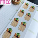 PP476 -- Large Grocery To Buy List Life Planner Stickers for Erin Condren
