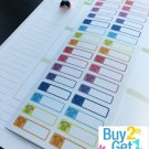 PP043 -- Telephone Call Reminder Life Planner Stickers for Erin Condren