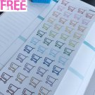PP447 -- Grocery Expenses Reminder Icons Planner Stickers for Erin Condren