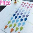 PP063-- Light Bulb Life Planner Stickers for Erin Condren