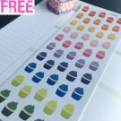 PP203 -- Small Cupcakes Life Planner Stickers for Erin Condren