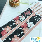 PP472A -- May Red Black Fashion Girl Life Planner Sticker for Erin Condren