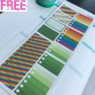 PP430C -- St Patrick's Day Functional Boxes Planner Stickers Erin Condren